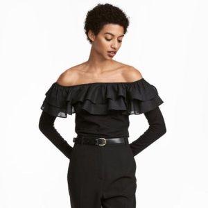 H&M Long Sleeves Off shoulder